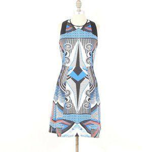 Hale Bob Kaleidoscope Print Scuba Knit Dress